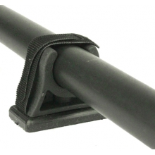 ParkNPole Rubber Clips with deluxe Mounting base, Includes Hardware and security strap, 2 pack by YakAttack