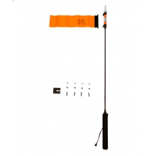 VISIpole II, Light, mast, floating base, Includes Mighty Mount, Includes flag by YakAttack in Iowa City IA