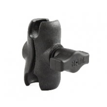 "RAM Short (2.5"") Composite, Double Socket Arm, for 1"" Ball Interface by YakAttack"