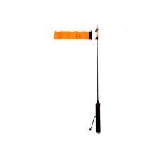 VISIpole II, Light, mast, floating base, Mighty Mount / GearTrac ready, Includes flag