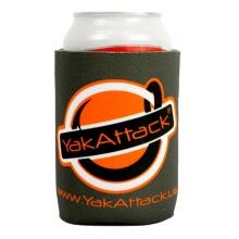 Get Hooked Logo Koozie - Grey by YakAttack