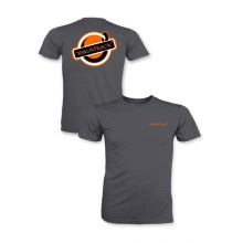 Get Hooked Short Sleeve Tee Shirt, Heather Charcoal, XXXL