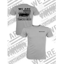 We Are YakAttack Short Sleeve Tee, Heather Grey, XXL by YakAttack