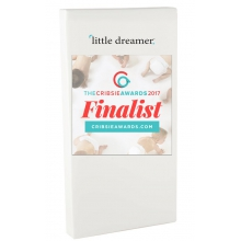 Little Dreamer Deluxe Full All Foam - Dual Firm w/visco & organic mattress cover