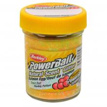 PowerBait Natural Glitter Trout Bait | Salmon Egg | Model #BGTSRB2 by Berkley