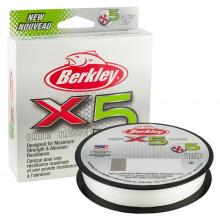 Berkley x5 Braid | 164yd | 150m | 40lb test | 59 lbC | 27.0kg | Model #X5BFS40-CY by Berkley