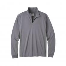 Men's Shady Cay II Qtr Zip Long Sleeve Shirt