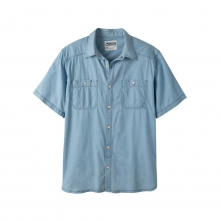 Men's Ace Indigo Short Sleeve Shirt by Mountain Khakis in Leeds Al