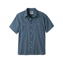 Men's Ace Indigo Short Sleeve Shirt by Mountain Khakis