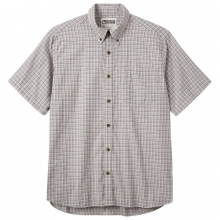 Men's Spalding Gingham Short Sleeve Shirt by Mountain Khakis in Nibley Ut