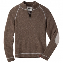 Men's Fleck Qtr Zip Sweater
