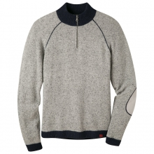 Fleck Qtr Zip Sweater