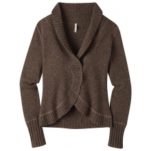 Women's Fleck Shawl Cardigan Sweater