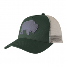 Bison Patch Trucker Cap by Mountain Khakis in Montgomery Al