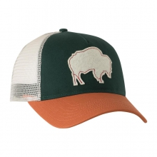 Bison Patch Trucker Cap by Mountain Khakis in Little Rock Ar