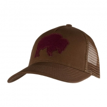 Bison Patch Trucker Cap by Mountain Khakis in Opelika Al