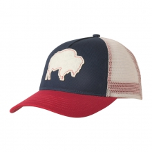 Bison Patch Trucker Cap by Mountain Khakis in Madison Al