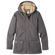 Women's Ranch Shearling Hooded Coat