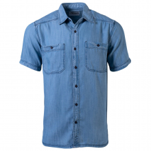 Men's Ace Indigo Short Sleeve Shirt by Mountain Khakis in Sioux Falls SD