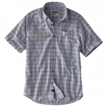 Men's Spalding Gingham Short Sleeve Shirt by Mountain Khakis in Wilton Ct