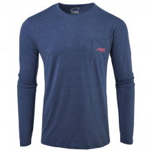 Men's Pocket Logo Long Sleeve T-Shirt by Mountain Khakis