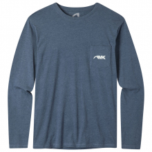 Men's Pocket Logo Long Sleeve T-Shirt by Mountain Khakis in Wilton Ct