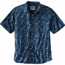 Men's Adventurist Signature Print Shirt by Mountain Khakis in Bentonville Ar