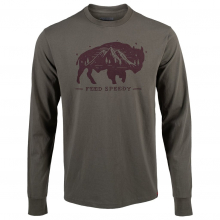 Men's YWS Feed Speedy Long Sleeve T-Shirt Classic Fit by Mountain Khakis