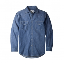 Original Mountain Denim Shirt by Mountain Khakis in Anchorage Ak