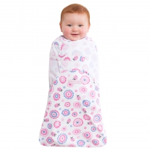 SwaddleSure Adj Swaddling Pouch 100% Cotton Pink Ladybug Newborn by Halo in Irvine Ca