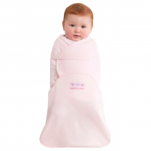 SwaddleSure Adj Swaddling Pouch 100% Cotton Pink Small by Halo in Irvine Ca