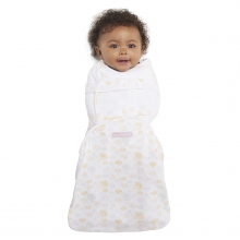 SwaddleSure one-piece swaddle, Size Small, Girl Print Dandy Cantelope, 100% cotton by Halo in Fairfield Ct