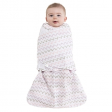 SleepSack Swaddle Cotton Muslin Chevron Pink Newborn by Halo in Los Angeles Ca