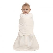 SleepSack Swaddle 100% Cotton Cream Newborn by Halo
