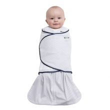 SleepSack Swaddle 100% Cotton Pin Dot Navy Small by Halo in Fairfield Ct