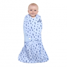 SleepSack Swaddle 100% Cotton Denim Triangle Small by Halo