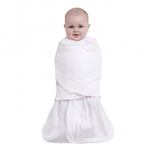 SleepSack Swaddle 100% Cotton Pin Dot Pink Newborn by Halo in Irvine Ca