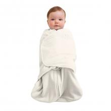 SleepSack Swaddle Micro-Fleece Cream Newborn by Halo