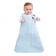 SleepSack Wearable Blanket Cotton Sweater Knit Blue by Halo in Irvine Ca