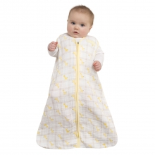 SleepSack Wearable Blanket Cotton Muslin Giraffee Yellow Large by Halo in Irvine Ca