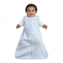 SleepSack Wearable Blanket 100% Cotton Blue Large by Halo