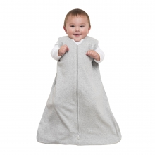 SleepSack Wearable Blanket, 100% Cotton, Gray, SM by Halo