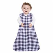 SleepSack Wearable Blanket 100% Cotton Navy Check Small by Halo