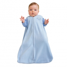 SleepSack Wearable Blanket Micro-Fleece Blue X-Large by Halo