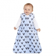SleepSack Wearable Blanket Micro-Fleece Blue Oh Deer X-Large by Halo