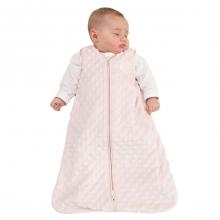 SleepSack Wearable Blanket Velboa Pink Plush Dots Medium by Halo