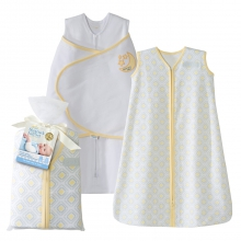 2 Piece Gift Set 100% Cotton Yellow Moon and Stars by Halo in Irvine Ca