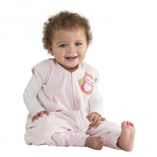 SleepSack Early Walker Micro-Fleece Owl Large by Halo