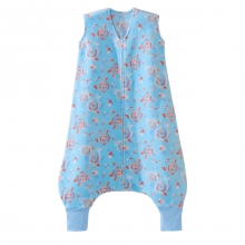 SleepSack Early Walker Micro-Fleece Floral Aqua Medium by Halo in Los Angeles Ca