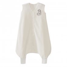 SleepSack Big Kids Micro-Fleece Cream Dog  4-5T by Halo